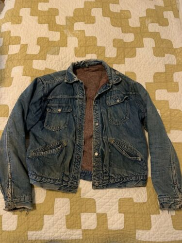 Vintage Ranchcraft Jc Penny Levi Denim Jacket 50s… - image 1