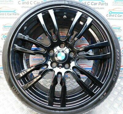 "BMW 3 4 Series Alloy 19/"" Rear Wheel Style 403 8.5J Pirelli RFT 4.5mm 7845883"