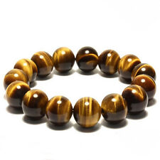 8MM Natural Colorful Tiger Eye Stone Gemstone Beads Men Jewelry Bracelet BangleD