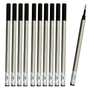 10pcs jinhao stylo à bille Recharge Stylo Encre Noir Lot Compatible 0.5//0.7mm