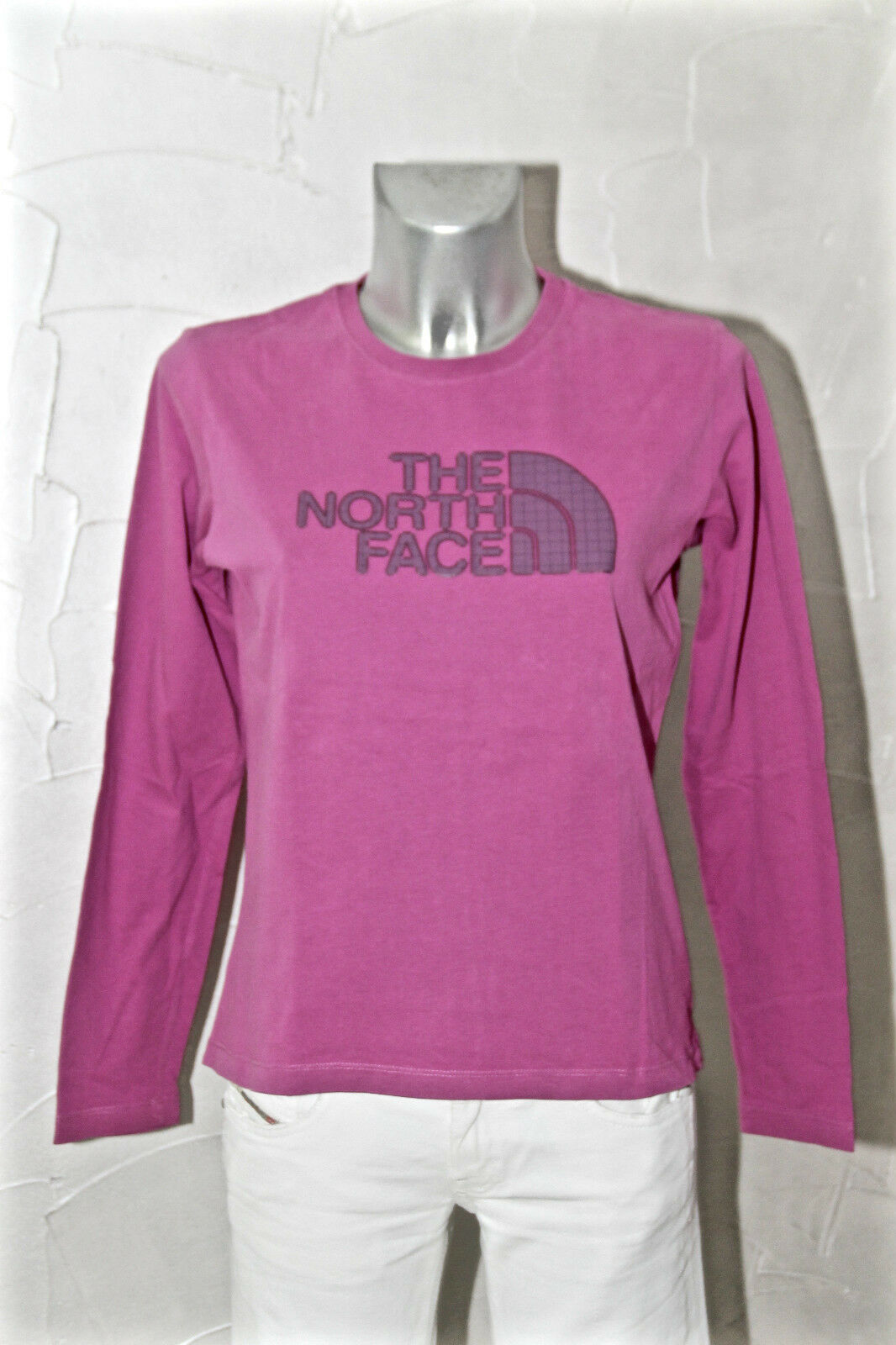 Hooded sweater pink woman THE NORTH FACE Size M (38 40) mint