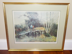 Robert Rucker The Race Signed /& Numbered print
