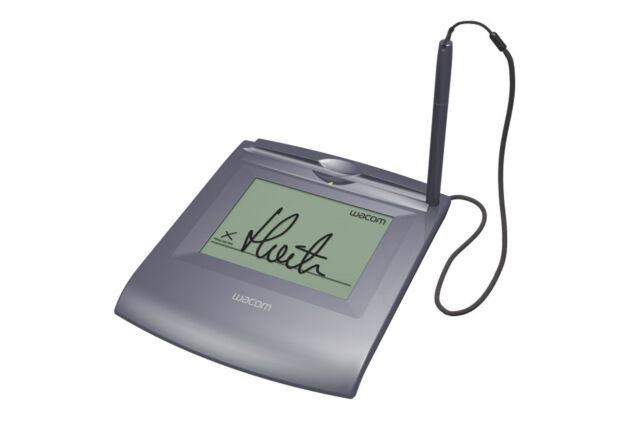 Wacom Stu500 LCD Signature Tablet Pad Stu-500b