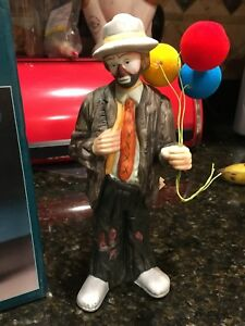 Details about NIB EMMETT KELLY JR Signature Collection BALLOONS FOR SALE  9780d Hobo Clown