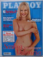 Playboy - D 2/2001,Saskia Valencia, Barbara Beckenbauer, Manfred Krug