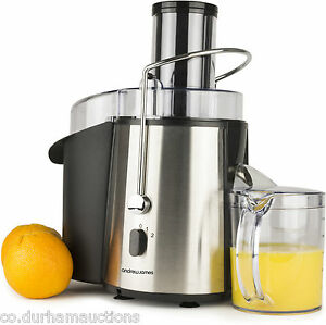 Andrew-James-Professional-Power-Juicer-Stainless-Steel
