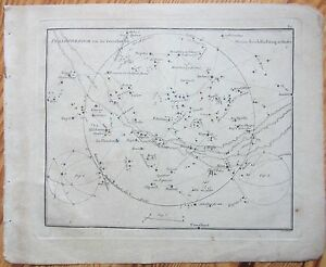 Goldbach-Rare-Celestial-Map-Planisphaerium-1799
