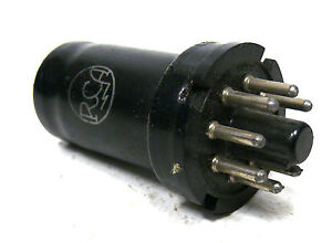 RCA-6SJ7-SC-189-P-1-Stueck-Ungetestet-Roehre-Tube-Rar-Blau-82