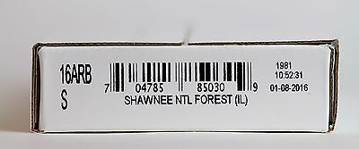 UNC Bank Roll Roll of 2016 P Shawnee National Forest National Park Quarters