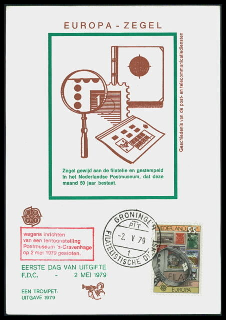NL MK 1979 EUROPA CEPT MAXIMUMKARTE CARTE MAXIMUM CARD MC CM bd75