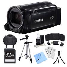 Canon VIXIA HF R700 Black Camcorder, 32GB Card, and Accessories Bundle