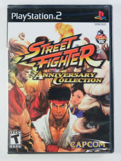 STREET FIGHTER ANNIVERSARY COLLECTION PS2 NTSC-USA NEW /NEUF