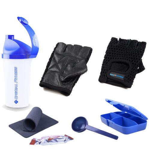 Bodyworks Fitness Handschuh Standard-Grip, Fitnesshandschuhe + BONUS