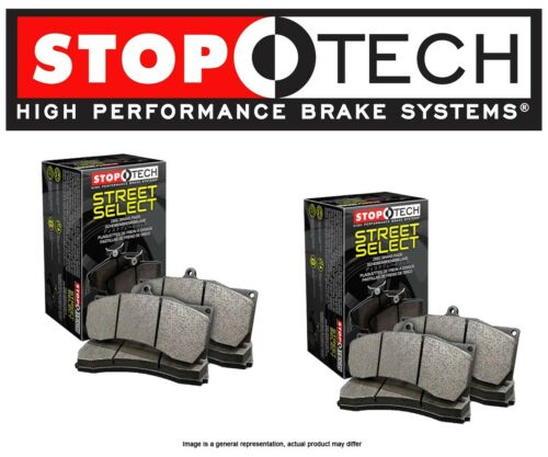 STP101013 Stoptech Street Select Disc Brake Pads w//BREMBO FRONT + REAR SET