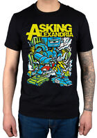 Official Asking Alexandria Killer Robot T-Shirt New Merch Afterlife Hourglass