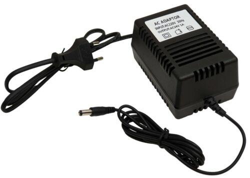 5,5x2,1mm transformateur chargeur tension variable AC 24V AC 1A 1000mA AC