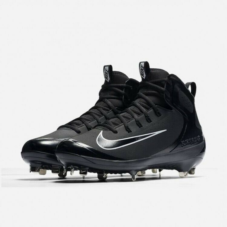 Para Hombre Nike Alpha Huarache Elite mediados De Metal BÉISBOL CALZADO PARA DEPORTES 923428-001 Nuevos Sin Caja