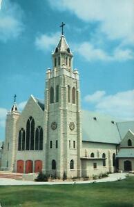 St  JOHN CATHOLIC CHURCH SAN JUAN TEXAS POSTCARD SHRINE of