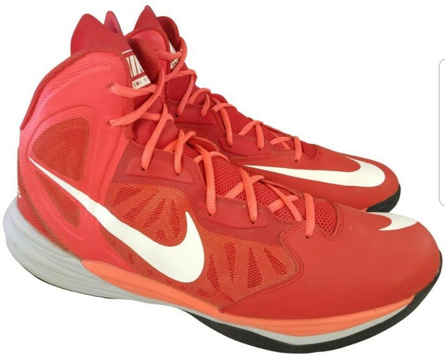 NIKE PRIME HYPE DF MAN RED SHOES SNEAKERS SIZE  13