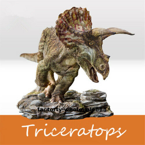 PNSO TRICERATOPO Dolly 1/35 Dinosauri CHONGQING Museo versione finale Figura UK