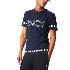 58979e8dc Adidas Mens Originals New William Daisy Crew neck Short Sleeve T-Shirt Top