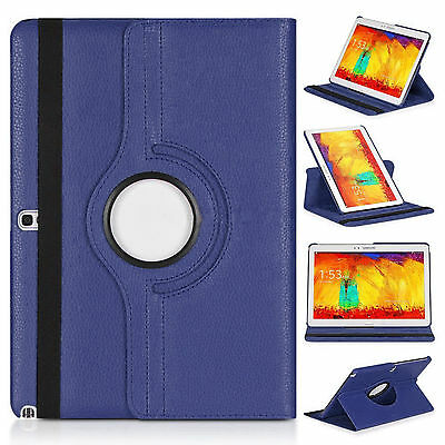 Leather 360 Rotate Case For Samsung Galaxy Note 10.1 2014 SM-P600 P601 P605