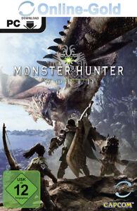 Monster Hunter: World - Pre-Order Code - PC Steam Spiel Digital Code Key - DE EU