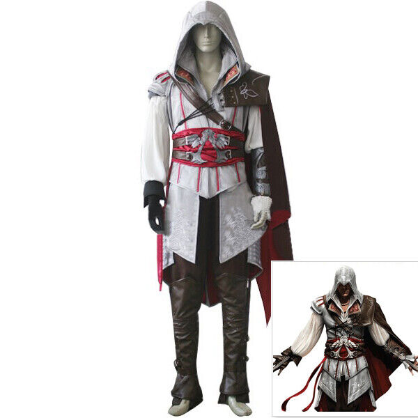 Assassin S Creed 5 Unity Arno Victor Dorian Cosplay Gray Outfit