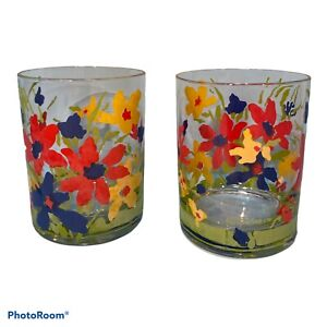 2 Vintage Culver Glasses; Rachel Pattern #954 See Description