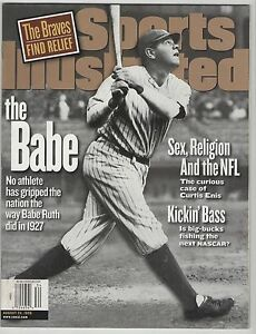 1974 Babe Ruth New York Yankees Sports Illustrated NO LABEL March 18