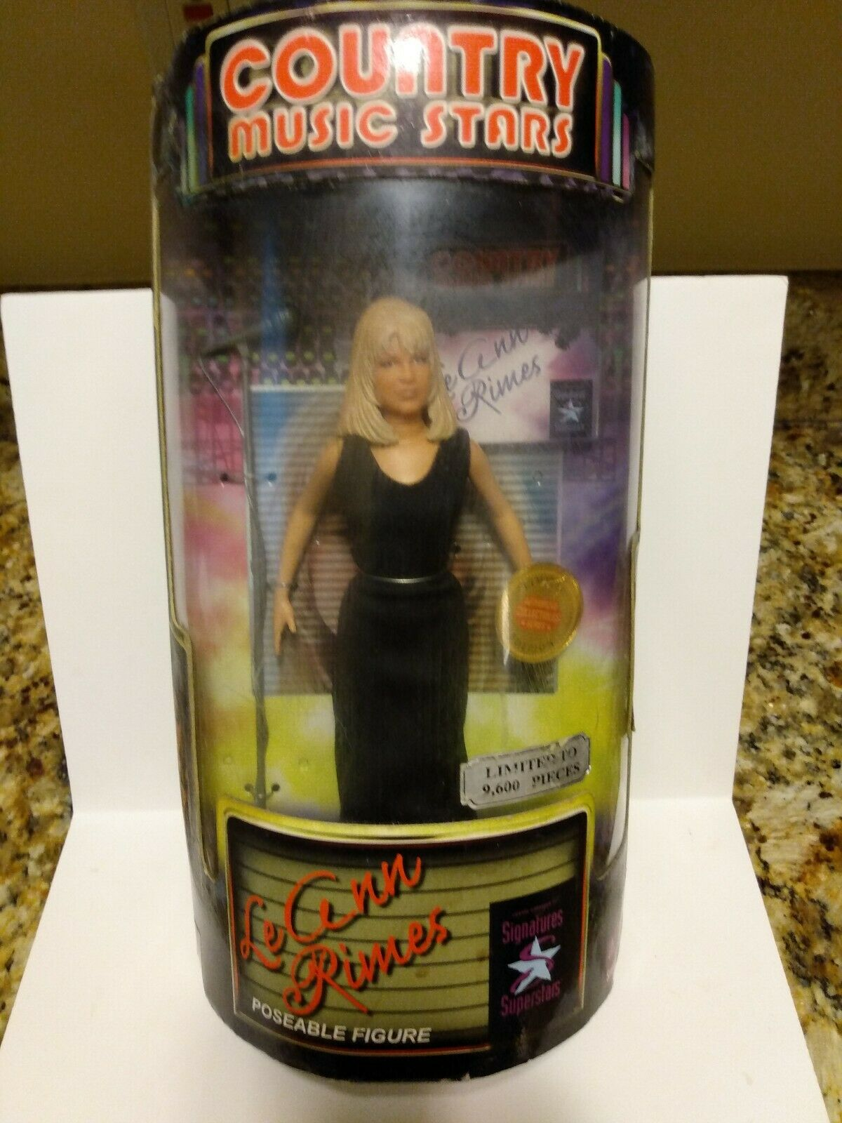 Leann Rimes Poseable Figure Exclusive Toy Products Inc.
