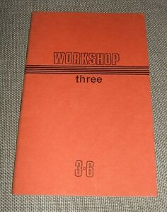 Workshop-Three-Summer-1968-First-Edition-Vintage-Poetry-Journal-See-Listing