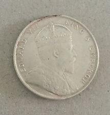 Straits Settlements 1907H Silver $1 Dollar