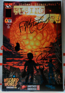 RISING-STARS-1-3X-SIGNED-MARC-SILVESTRI-Wizard-World-Chicago-039-99-Exclusive