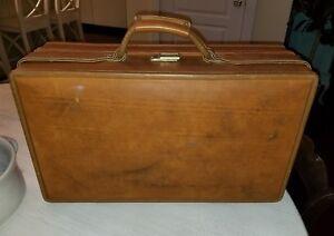Vintage-HARTMANN-LUGGAGE-21-1-4-034-Pullman-Belting-Leather-Suitcase