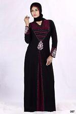 Niqab Hijab Islamic dress Burka Abaya Diamond Lace Burqa black jilbab dubai 1466