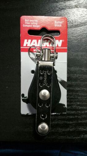 New Genuine HARKEN 167 Bullet Swivel BLOCK w// Becket Ball Bearing Sailboat