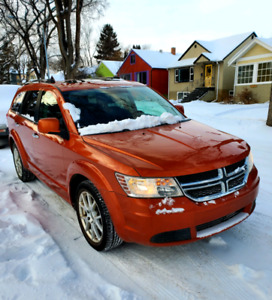 2011 Dodge Journey R/T AWD 7 Seat w Car Starter/Leather/Moonroof