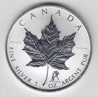 2004 Maple Leaf Aquarius Privy 1 oz Pure Canadian Silver Privy Mark - No Tax