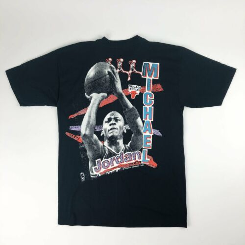VTG NBA Chicago Bulls Michael Jordan Magic Johnson