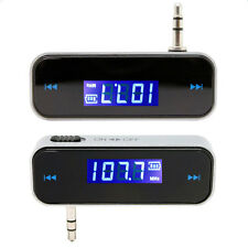 3.5mm Audio Wireless Car Kit MP3 Radio FM Transmitter for Smartphone Samsung