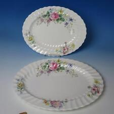 """Royal Doulton China - Arcadia H4802 - 2 Oval Serving Platters - 16"""" and 13½"""""""