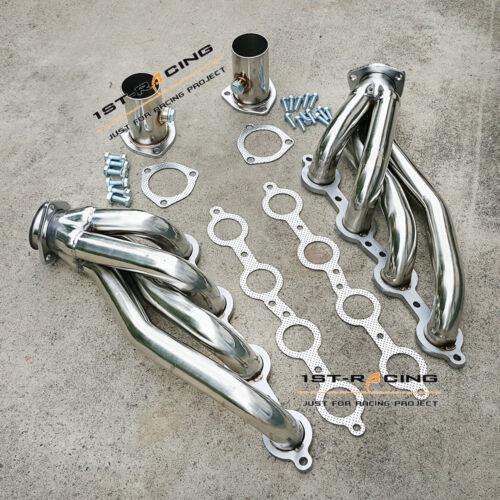LSX LS2 LS3 LS6 V8 Chevelle Camaro Nova Firebird SS304  Exhaust Manifold Headers