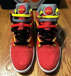 Pump Packer Zone Reebok X Omni Nique Basketball Red Shoes Us Nubuck rrPtq