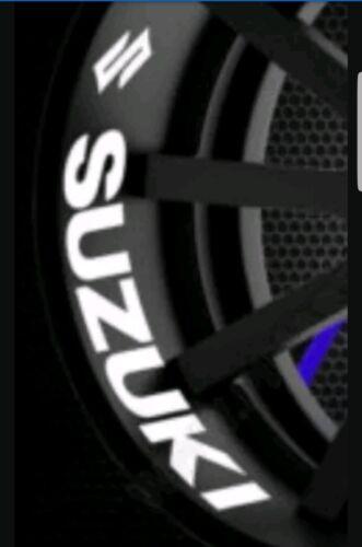 FOR SUZUKI K750 GSX R S RR K600 K650 K1000 WHEEL X 4 MOTORBIKE DECALS STICKERS A