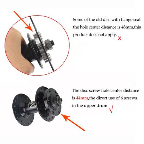 160//180//203mm MTB Bike Disc Brake Rotor Cycling 6 Bolts Disc Brake Rotor Steel