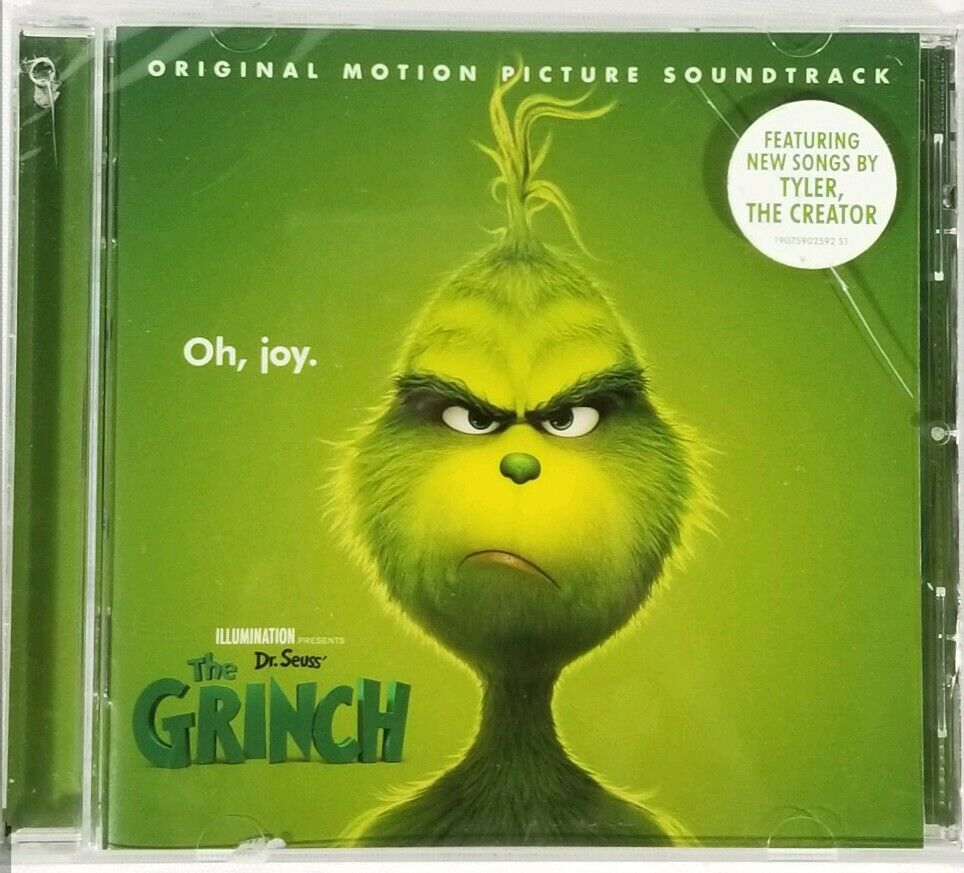 Dr Seuss The Grinch 2018 Original Motion Picture Soundtrack Cd Tyler The Creator For Sale Online