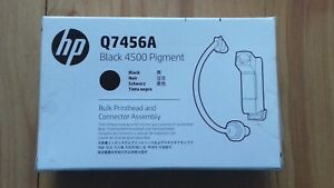 Original-HP-Q7456A-Negro-4500-pigmento-a-granel-conjunto-del-cabezal-de-impresion-amp-Conector-nuevo