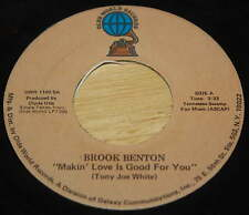 Brook Benton 45 Makin' Love Is Good For You / Better Times