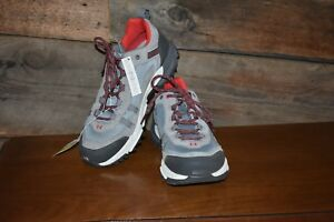 9ed3837c2cf Details about NEW Under Armour Women's Trail Running Hiking Shoes Post  Canyon Low Top Gray Red